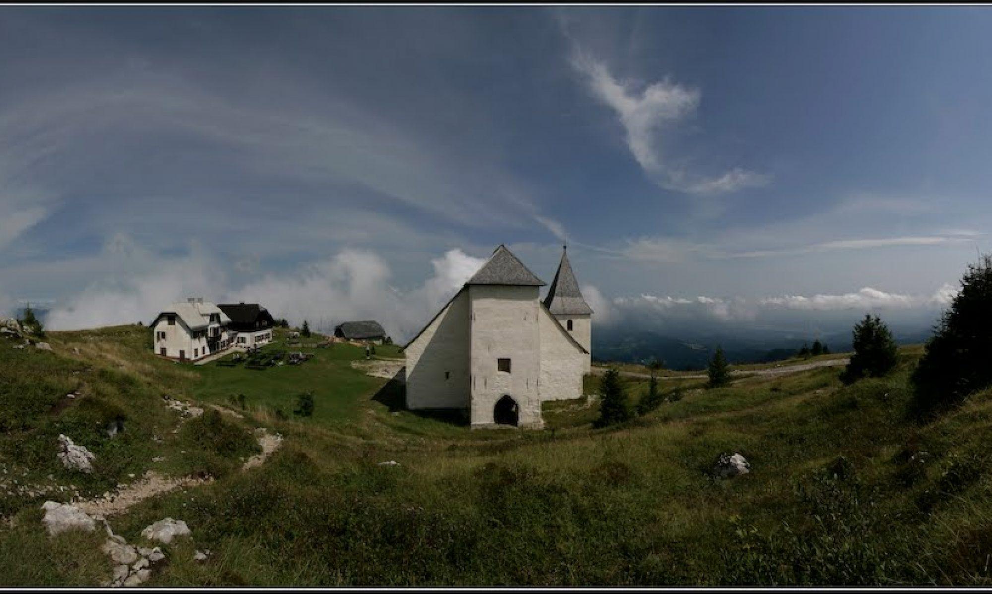 Uršlja Gora - Cerkev